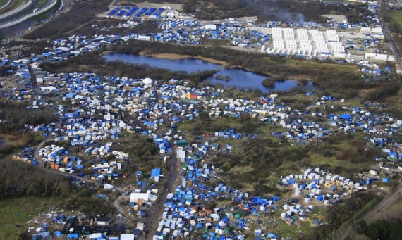 From caravans to kitchens: alleviating the suffering of refugees in Calais