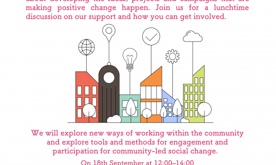 Community Powered Change Session Belfast