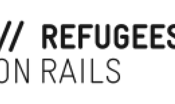refugees on rails logo