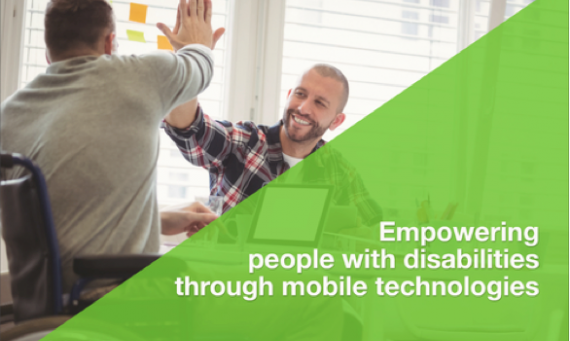 Empowering people with disabilities through mobile technologies: Winners announced in May