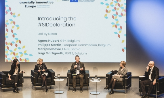 First highlight | SIC final event: Beyond Imagination: a socially innovative Europe