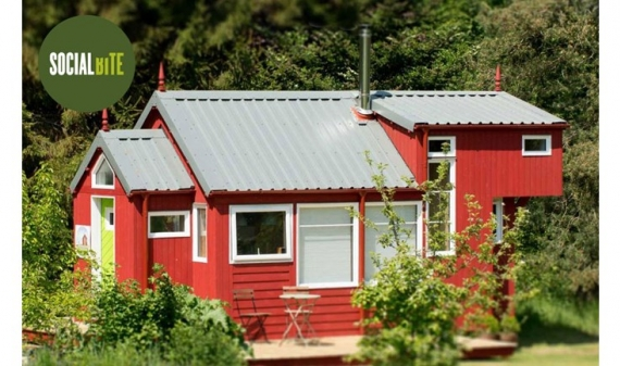 Eco-homes for the homeless
