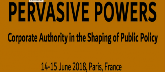 Call for Papers. Pervasive Powers