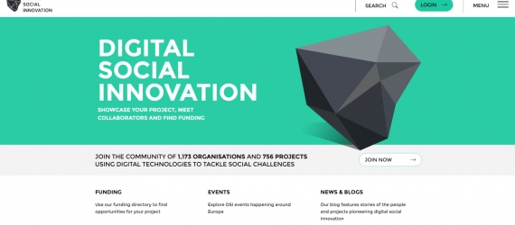 Be part of the Digital Social Innovation Community across Europe