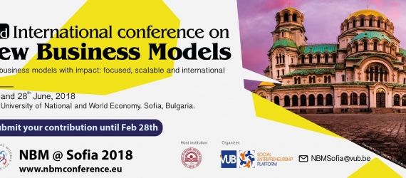 New Business Models Conference in Sofia, Bulgaria