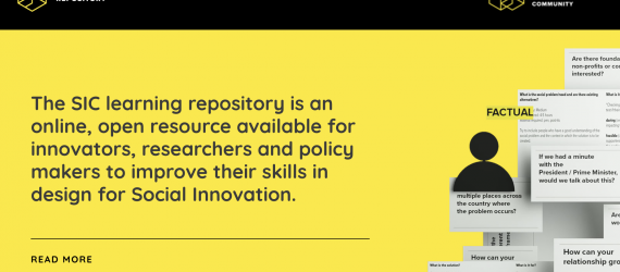 Access SIC tools and case studies via the Learning Repository